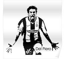 Del Piero New Poster