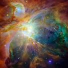 The Orion Nebula by destinysagent