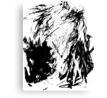 Graphic Marks Canvas Print
