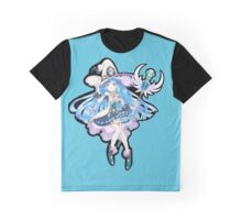 Cute Anime Magic Girl Graphic T-Shirt