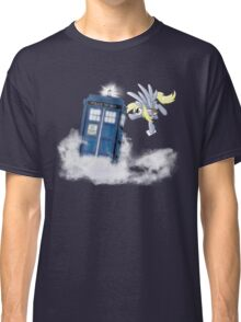 Derpy Tardis Delivery Classic T-Shirt