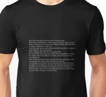 We Are Number One lyrics Unisex T-Shirt