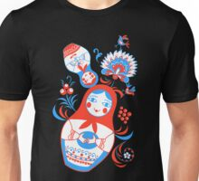 Vibrant Russian ornaments Unisex T-Shirt