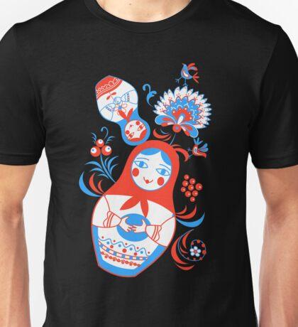 Vibrant Russian ornaments Unisex T-Shirt