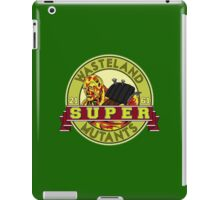 Wasteland Super Mutants iPad Case/Skin