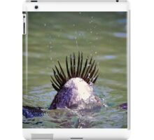 Diving Duck iPad Case/Skin
