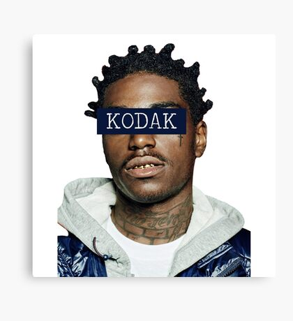 KODAK BLACK - KODAK Canvas Print