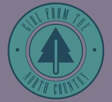 Girl from the North Country Fair Kids Tee