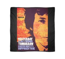 Bob Dylan Quote Scarf