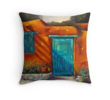 Adobe Charm by Chris Brandley Throw Pillow