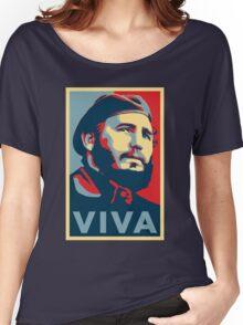Viva Fidel Castro Women's Relaxed Fit T-Shirt