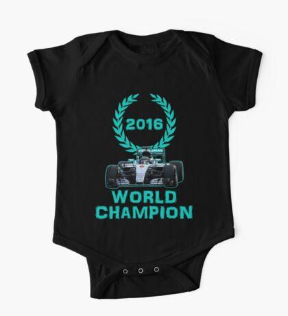 Rosberg 2016 World Champion F1 Formula 1 One Piece - Short Sleeve