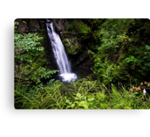 Amazing Waterfall - Travel Photography Canvas Print