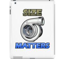 SIZE MATTERS (5) iPad Case/Skin