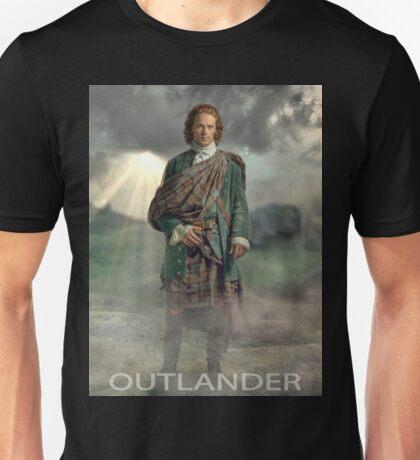 Jamie Fraser Outlander Warrior Unisex T-Shirt