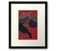 A Murder (Of Crows) Framed Print