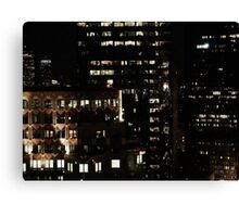 at night Canvas Print