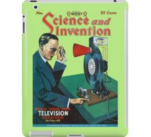 Build your own television receiver 1928 iPad Case/Skin