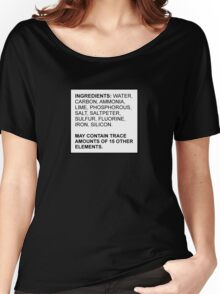 Ingredients of a Human Women's Relaxed Fit T-Shirt