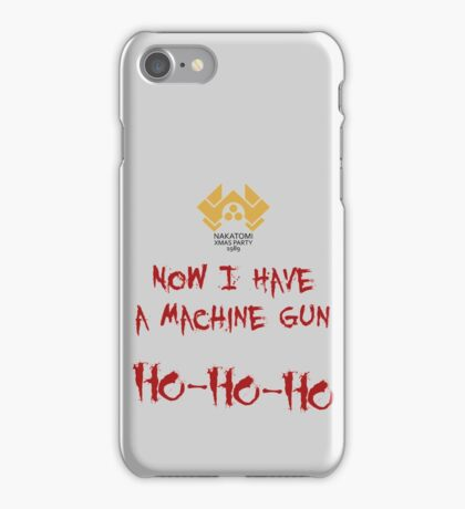 A Nakatomi Party iPhone Case/Skin