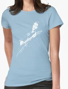 elvis t-shirt Womens Fitted T-Shirt