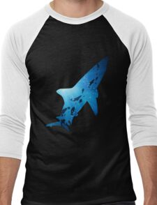 Deep Ocean Shark Men's Baseball ¾ T-Shirt