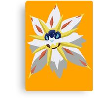 Solgaleo minimalist - Pokemon Moon Canvas Print