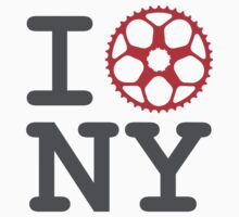 I Bike NY - New York Bicyclist Kids Tee