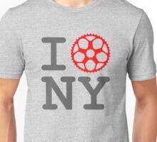 I Bike NY - New York Bicyclist Unisex T-Shirt