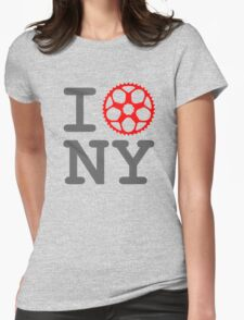 I Bike NY - New York Bicyclist Womens Fitted T-Shirt