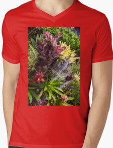 Cosmic Flowers - Nature Photography Mens V-Neck T-Shirt