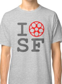 I Bike SF - San Francisco Bicyclist Classic T-Shirt