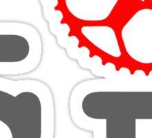 I Bike SF - San Francisco Bicyclist Sticker