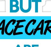 Education is important, but race cars are importanter! (3) Sticker