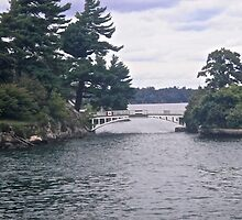 The International Border, 1000 Islands, NY USA by Shulie1