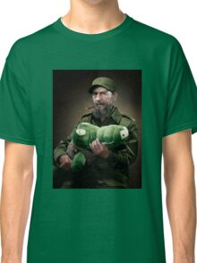 Fidel Castro The Hero of Cuba Classic T-Shirt