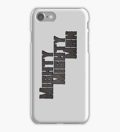 Mighty Mighty Man iPhone Case/Skin