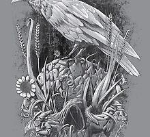 White Raven by qetza