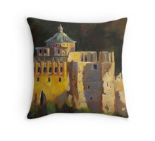 Heidelberg Schloss (castle) by Chris Brandley Throw Pillow