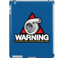 WARNING! contents under pressure (1) iPad Case/Skin