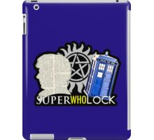 SuperWhoLock - Crossover MegaVerse iPad Case/Skin