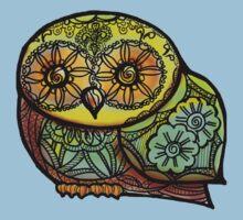 Owl - Tattoo T-Shirt