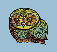 Owl - Tattoo Womens Fitted T-Shirt