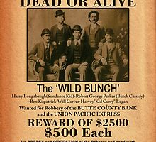 The Wild Bunch Wanted Poster by kayve