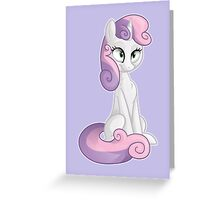 Sweetie Belle  Greeting Card