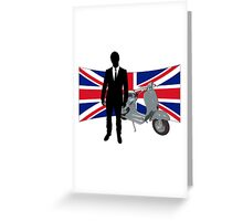 Scooter Mods T Shirt Greeting Card
