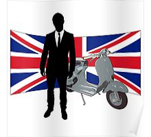 Scooter Mods T Shirt Poster