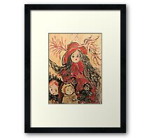 When Mary Visits Framed Print