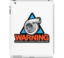 WARNING! contents under pressure (3) iPad Case/Skin