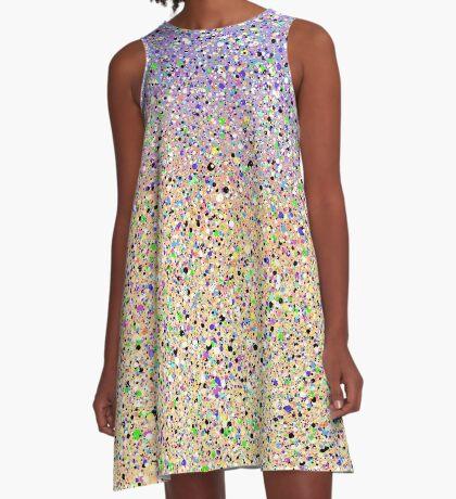Sprinkled Colors A-Line Dress